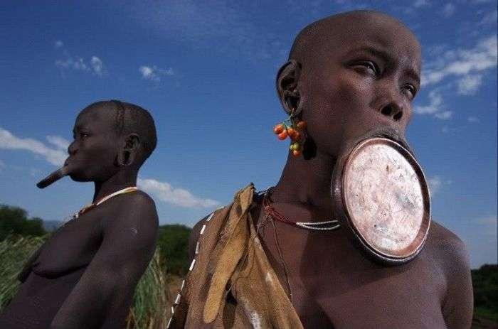Як живуть в африканській глибинці (38 фото)