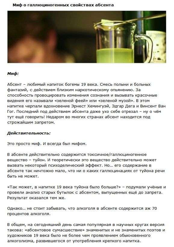 Найпоширеніші міфи про спиртних напоях (4 фото + текст)