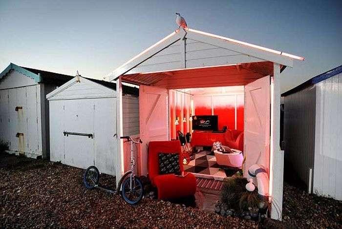 Високотехнологічний пляжний будиночок (5 фото)