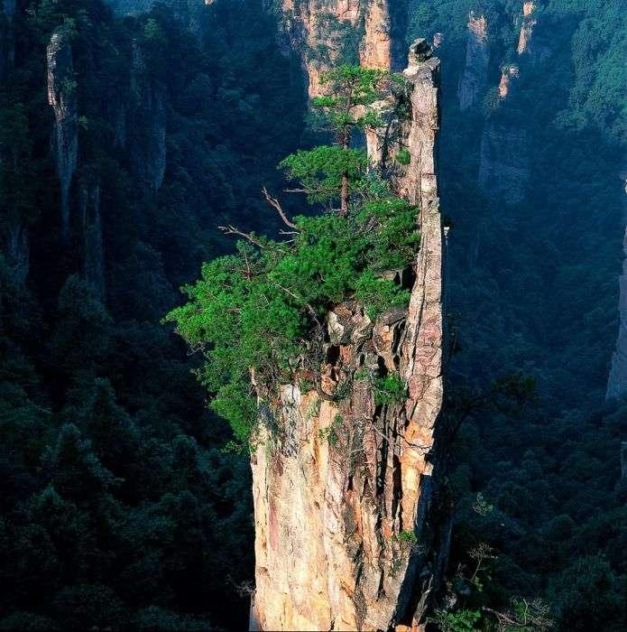 Дивовижна природа Китаю (23 фото)