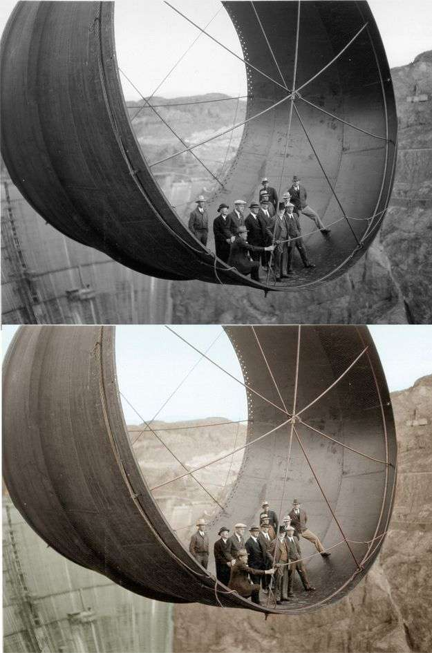 Чорно-білі знімки в кольорі (27 фото)