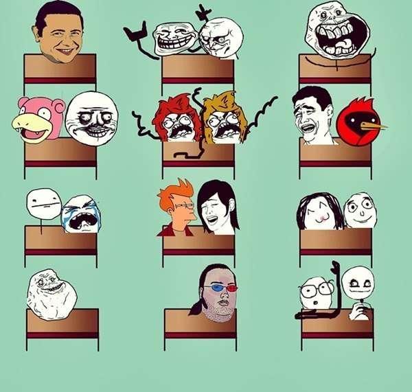 Смішні комікси (39 картинок)