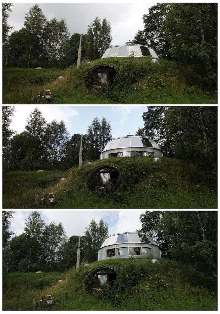 Незвичайний будинок (9 фото)