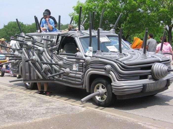 Незвичайний автотюнінг (52 фото)