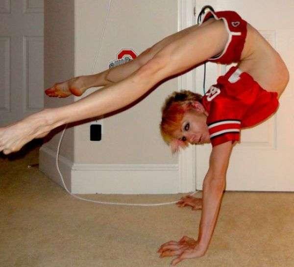 Неймовірно гнучкі люди (35 фото)