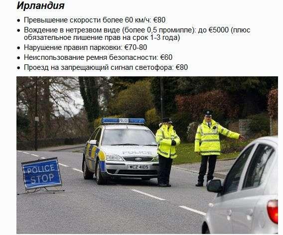 Як поліція за кордоном карає порушників ПДР (13 фото)