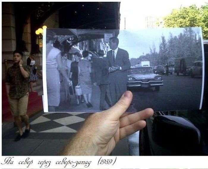Знімки в місцях зйомок фільмів (32 фото)