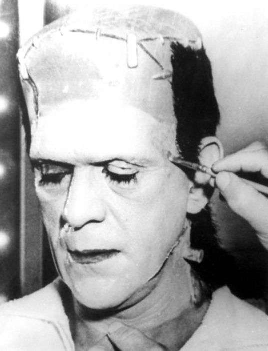 Зйомки Франкенштейна (31 фото)