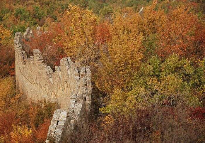 Велика Китайська стіна вже не та (37 фото)