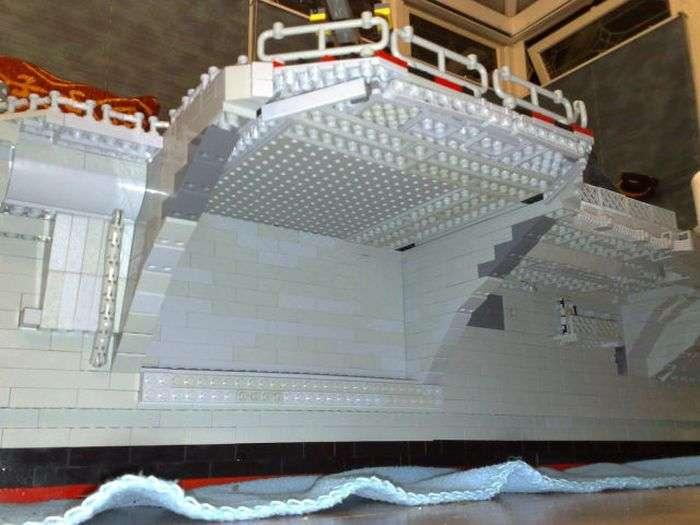 Лінкор з конструктора Lego (19 фото)