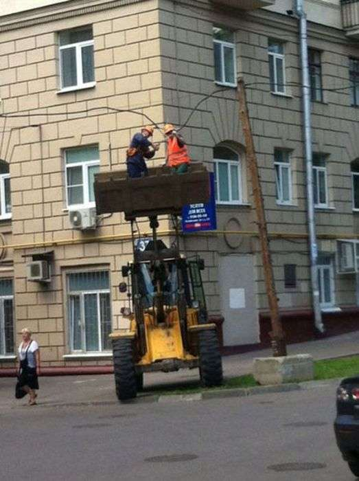 Таке буває тільки в Росії (60 фото)