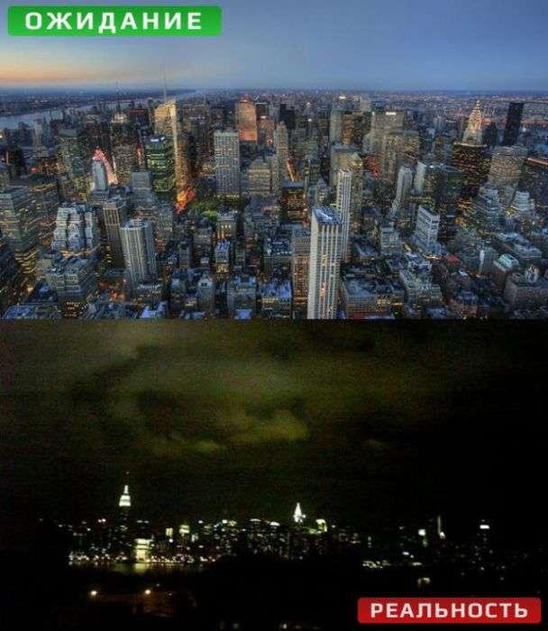 Фотографії з камери в телефоні: Сподівання і реальність (10 фото)