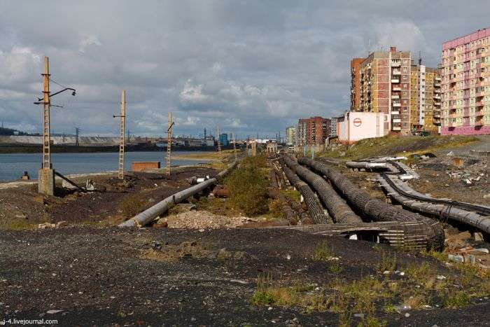 Життя в північному Норильську (29 фото)
