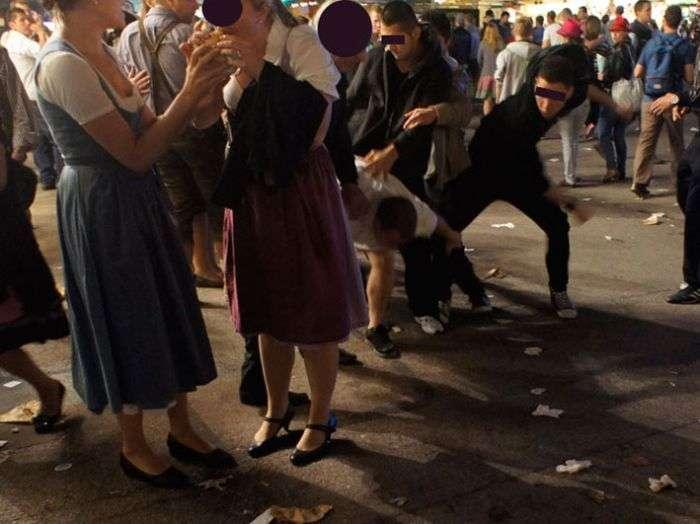 Зворотна сторона фестивалю Октоберфест 2012 (40 фото)