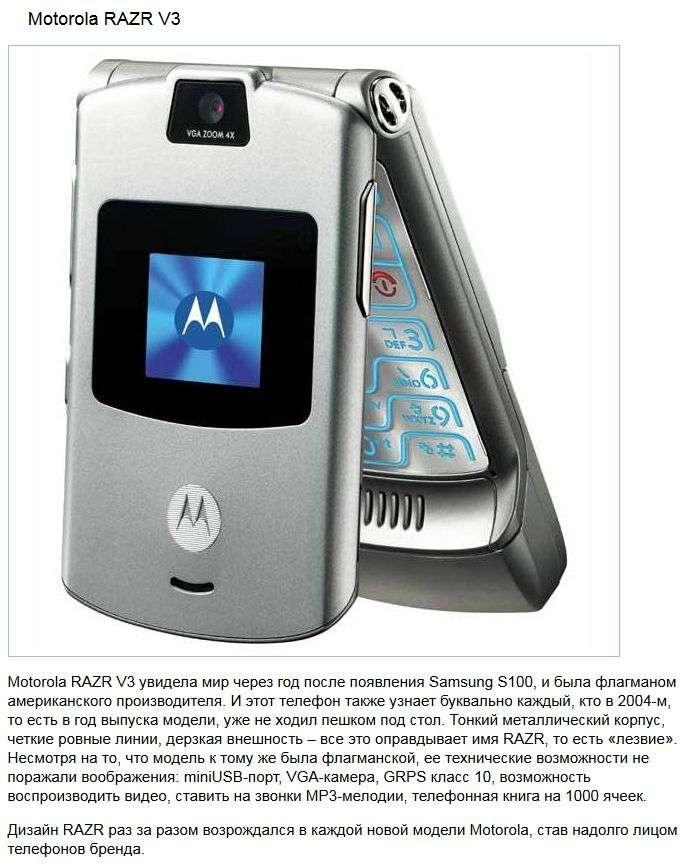 ТОП-10 мобільних телефонів з минулого, які здивували світ (10 фото)