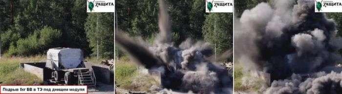 Бойові випробування бронемодуля (7 фото)