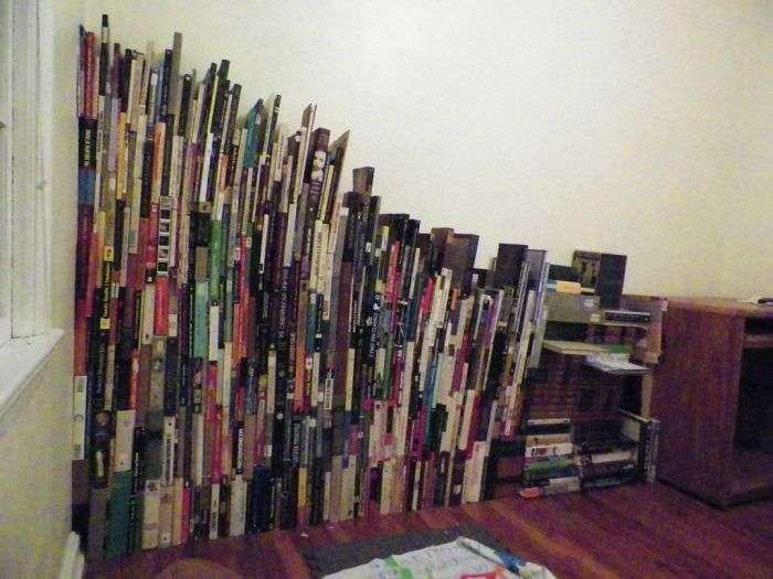 Якщо у вас немає книжкової шафи (10 фото)