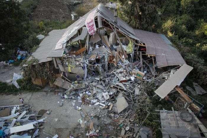 Людей залишили без даху над головою через олімпійської будівництва (13 фото)