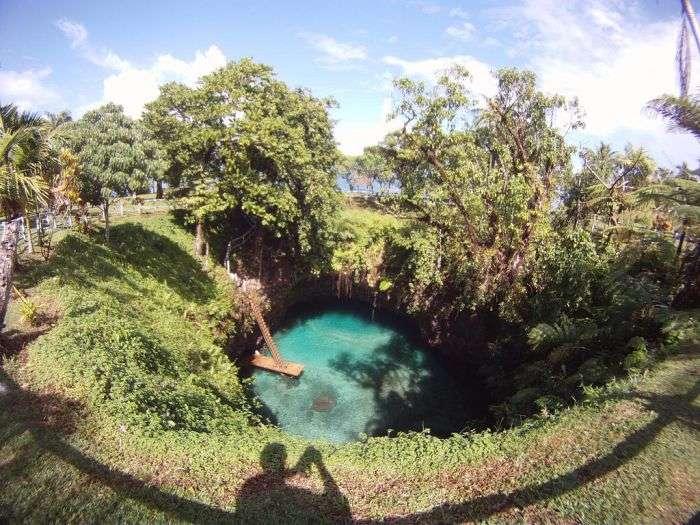 Неймовірно красивий водойму (8 фото)