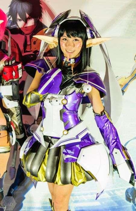 Дівчата з виставки Game Show 2012 в Токіо (51 фото)
