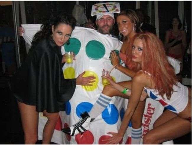 Кумедний костюм для вечірки на Хеловін (11 фото)